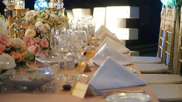 Wedding decoration can never go wrong as it crafted with love and poured with dedication, matched the love of its bride and groom. #TuesdayThought Stephanie and Mattia