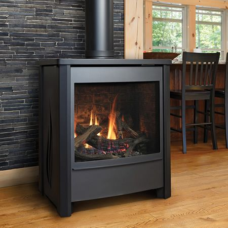 Kingsman FDV451 Free Standing Direct Vent Gas Stove | WoodlandDirect.com: Gas Stoves #LearnShopEnjoy