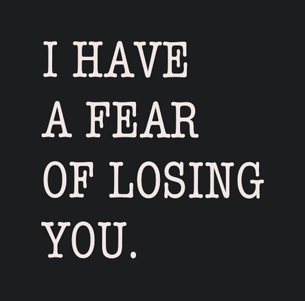 fear of losing control in a relationship