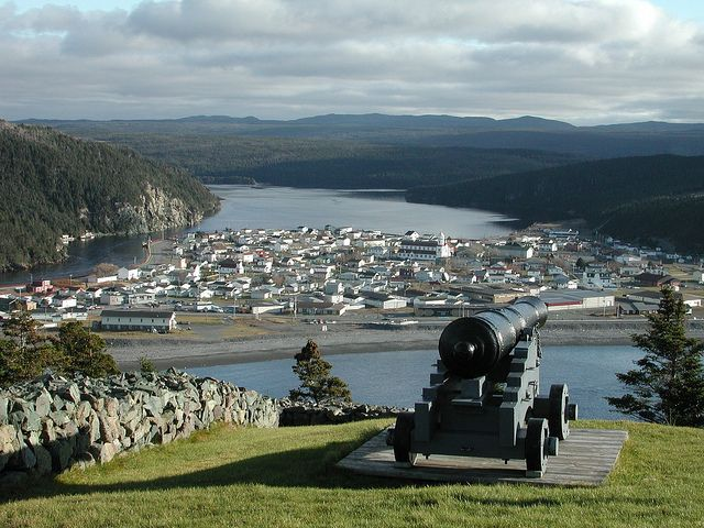 Castle Hill Cannon by Newfoundland and Labrador Tourism, via Flickr