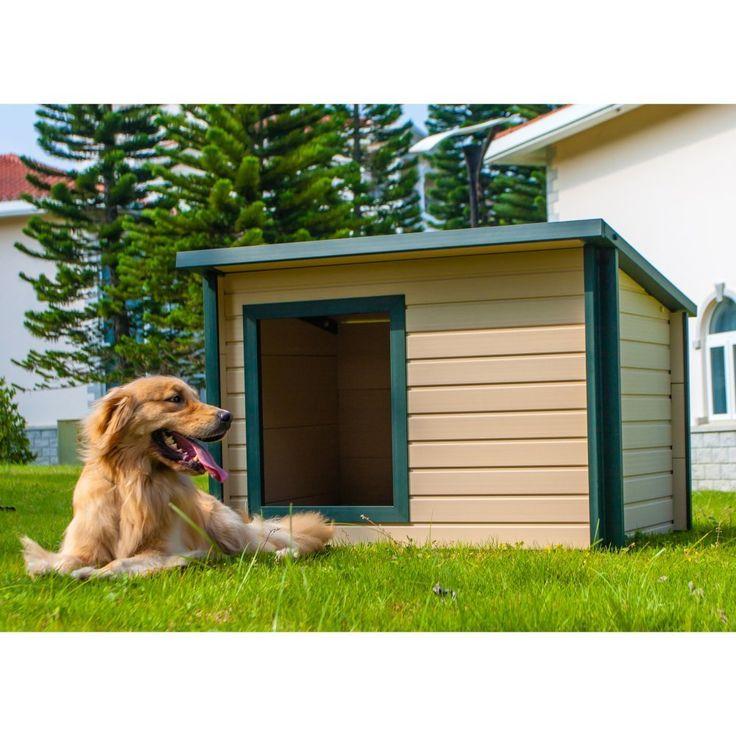 http://amzn.to/22sgazF New Age Pet EcoFLEX Rustic Lodge Dog House! New Age Pet EcoFLEX Rustic Lodge Dog House http://amzn.to/22sgazF