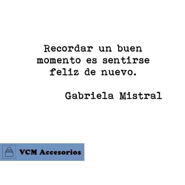 Frase de Gabriela Mistral