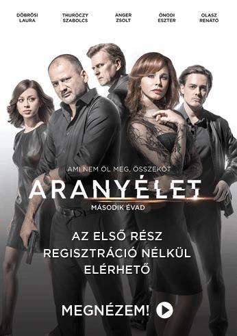 ARANYÉLET   2. ÉVAD - 1. RÉSZ   HBO GO