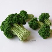 crochet broccoli