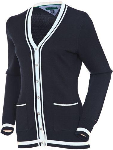 Tommy Hilfiger Golf Gatsby Cardigan   #golf4her #golf #sweater http://fashionforum111.blogspot.com/