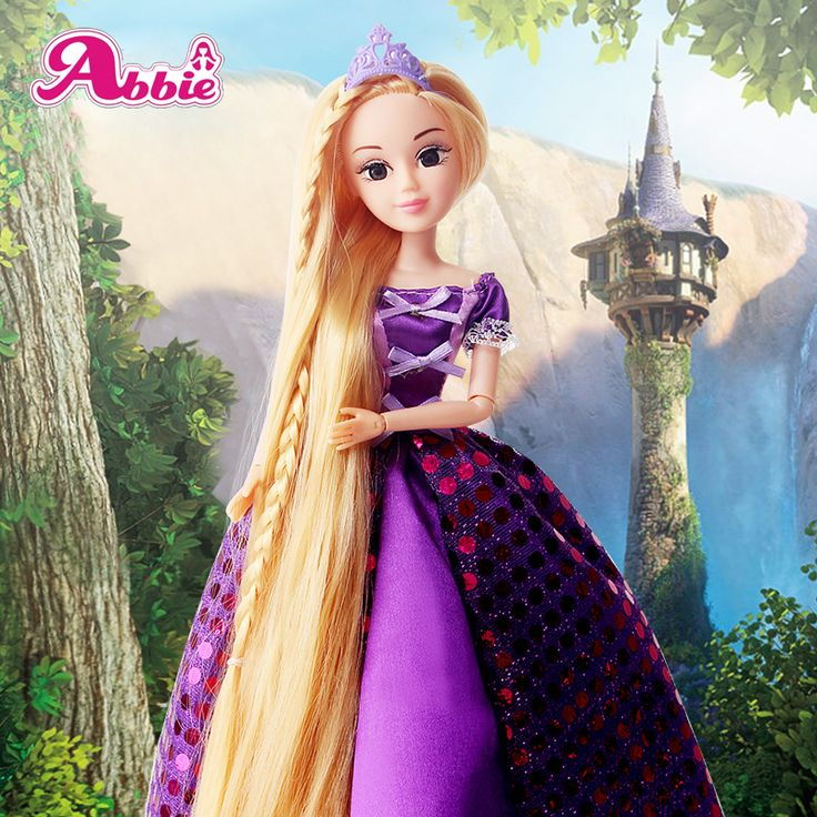 Abbie Princenss Dolls Rapunzel Long Hair Princess Fashion Fun And Educational Best Friend Play with Children Gift Christmas Toys #>=#>=#>=#>=#> Click on the pin to check out discount price, color, size, shipping, etc. Save and like it!