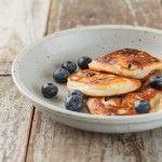 Glutenvrije American blueberry pancakes | Eat.Pure.Love