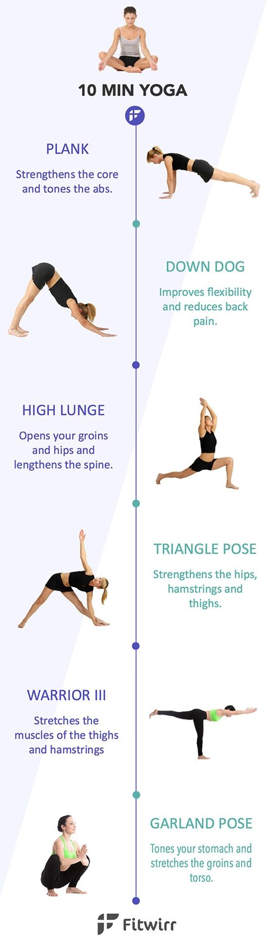 10-Minute Core Power Yoga to Strengthen Your Body