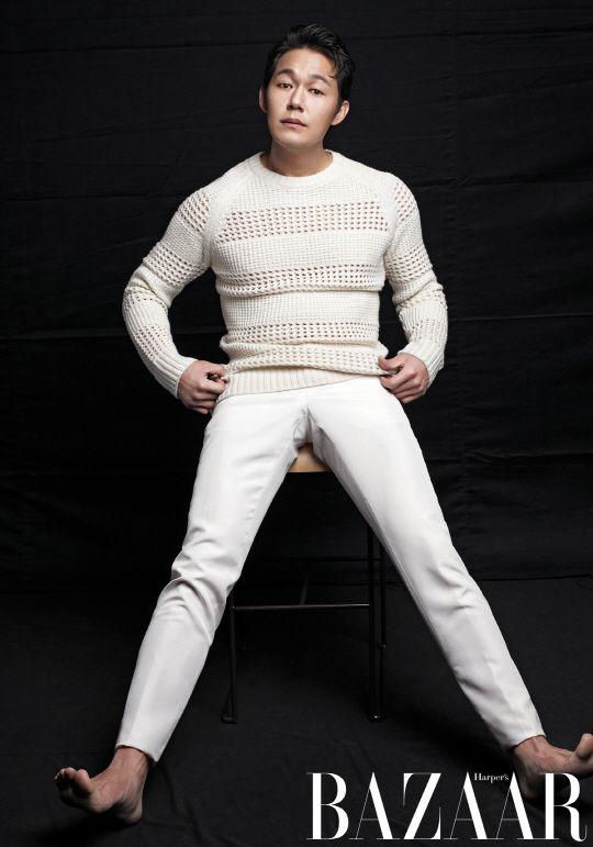 Park Sung Woong - Harper's Bazaar Magazine April Issue '14