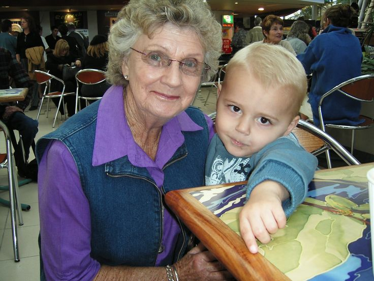 Merle with gr8 grandson Blake