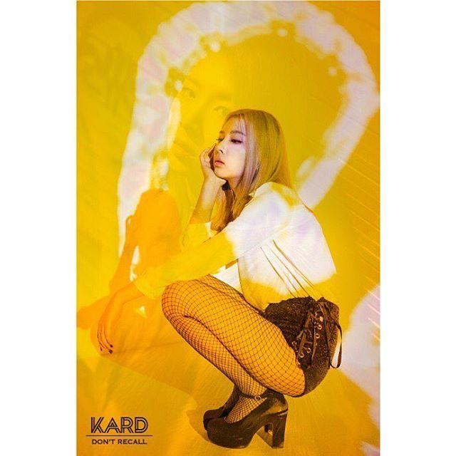 """K.A.R.D (@official_kard) en Instagram: """"2017.2.16 00:00 AM  K.A.R.D Project Vol.2 """"Don`t Recall"""" Overlap Teaser #2 #KARD #JIWOOJEON…"""""""