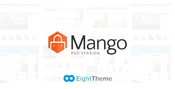 Mango - Responsive eCommerce PSD Template