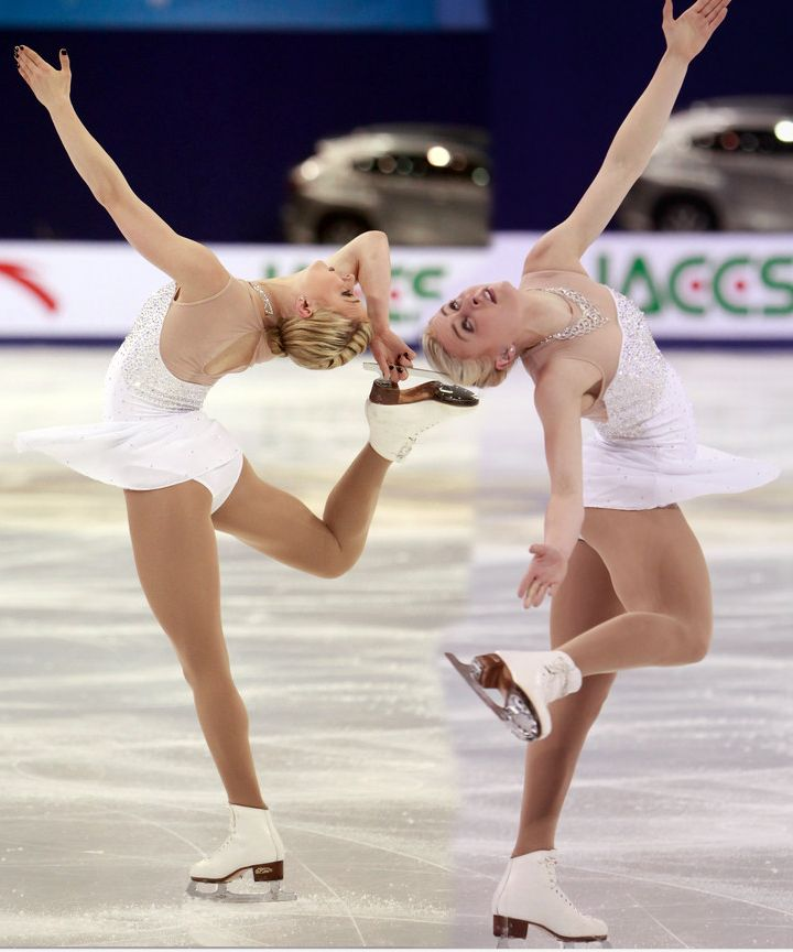 Ashley Cain Ladies free skate Cup of China 2014 (Evita by Lalo Schfrin)