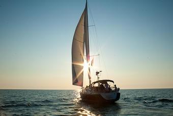 Segeln vor Kühlungsborn #kuehlungsborn #ostsee #segeln