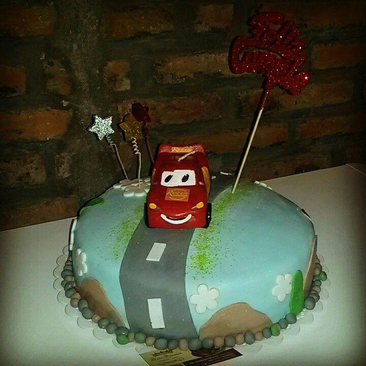 Dolce Domenica - Pasteleria Creativa & Eventos. Torta de Cars.