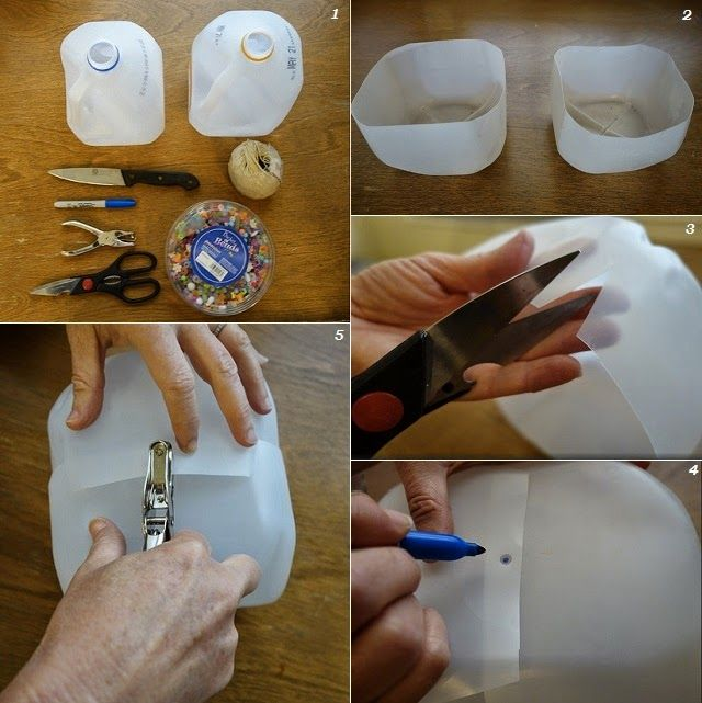 DIY Lunch Box Made From Recycled Milk Jugs   Goods Home Design. 69 best Diy Ideas images on Pinterest