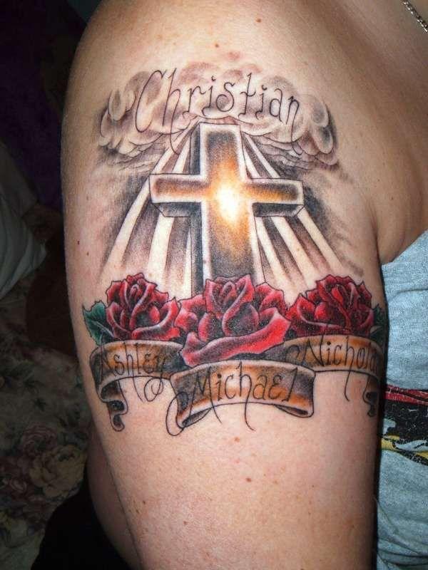 Tatuagem de R.I.P.