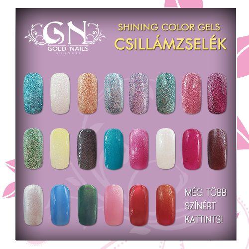 A csillámzselékkel igazán varázslatossá teheti kezét és körmei megjelenését! http://goldnails.eu/termekkategoria/gold-nails-zselek/csillam-zselek/
