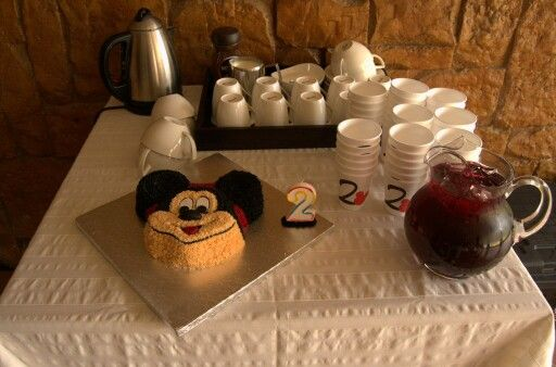 Mickey Mouse Clubhouse 2nd birthday party cake