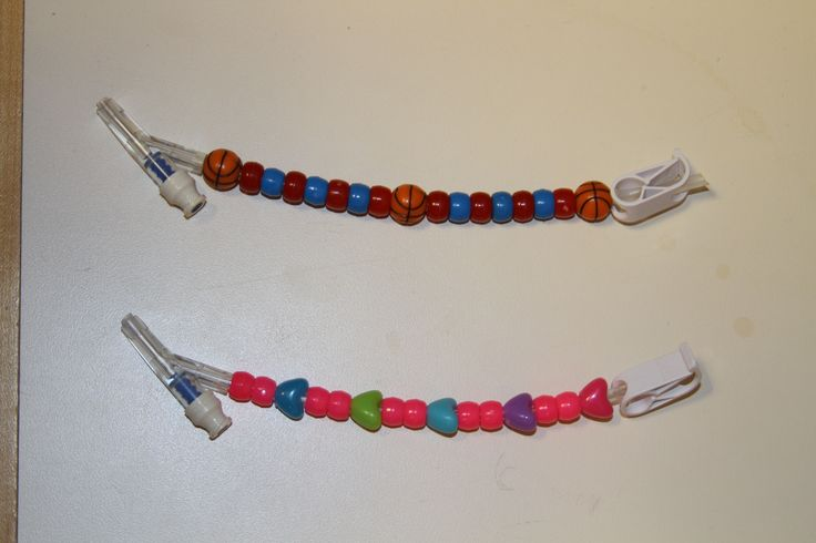 A Creative Craft Using Colorful Beads And Medical