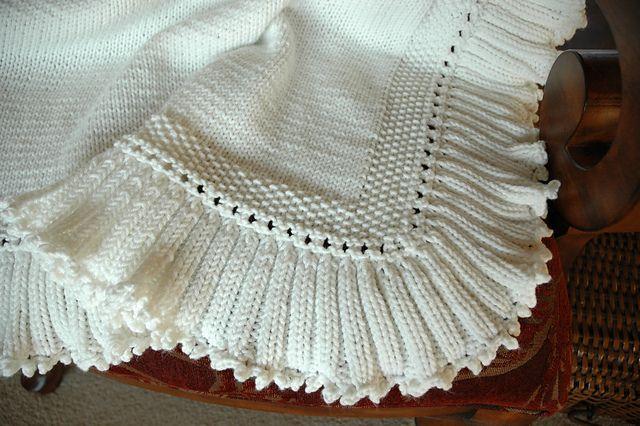 Simply Elegant Baby Blanket Pattern By Carolyn Block A