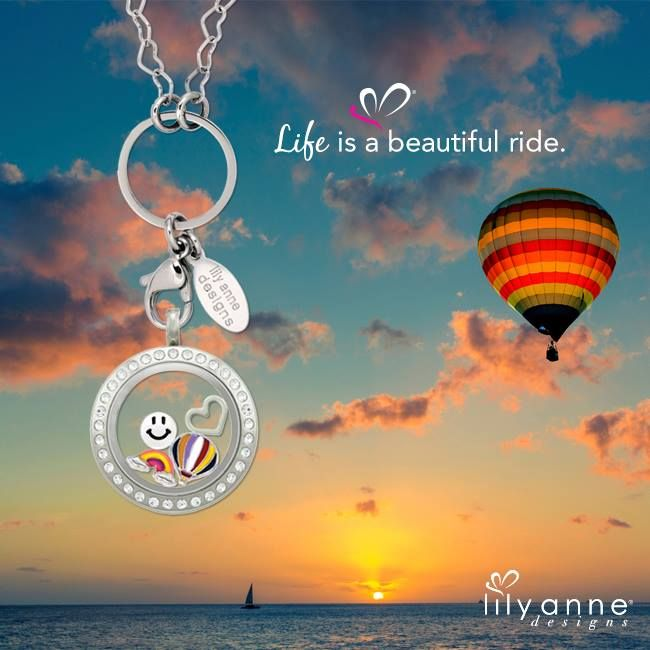 Life is a beautiful ride. #LilyAnneDesigns #PersonalisedLockets #CapturingMoments #FreeToBeMe #HotAirBalloon