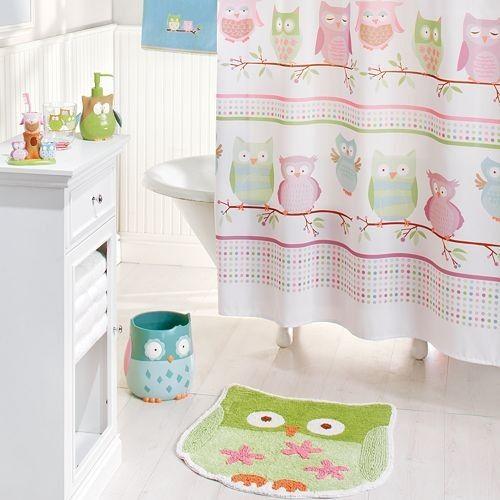 Kidsu0027 Bathroom Garden Owl