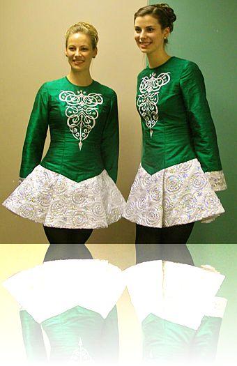 Irish dance dress skirt styles