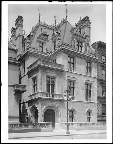666 5th Avenue. W.K. (William Kissam) Vanderbilt, Jr. Residence. 1905