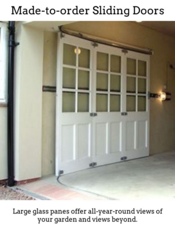 Sliding Doors Design Gorgeous Brighter Rooms With The Help Of Thermally Insulated Sliding And Foldable D Sliding Garage Doors Garage Door Design Garage House