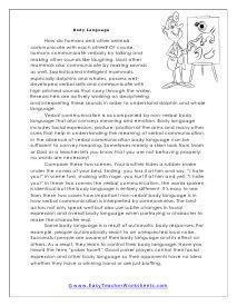Grade 6 Reading Comprehension Worksheets | Reading ...