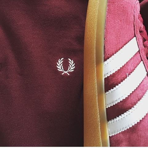 Perfect bedfellows - adidas and Fred Perry
