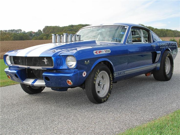 1965 FORD MUSTANG FASTBACK dragster