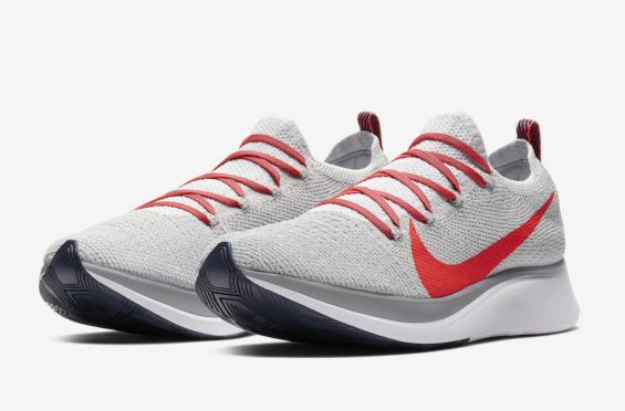 23f66732da92 Pure Platinum Covers The Nike Zoom Fly Flyknit Having dropped in a couple of  different colorways