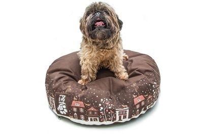 "PetBag kutyafekhely ""S""donut winter / dog bed"