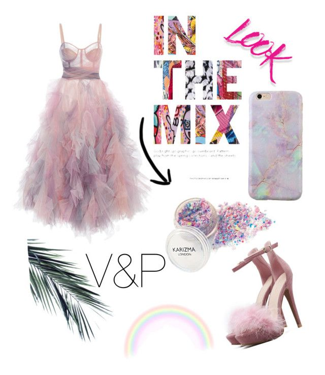 """Untitled #18"" by veronika-grabanova on Polyvore featuring Marchesa and NYX"