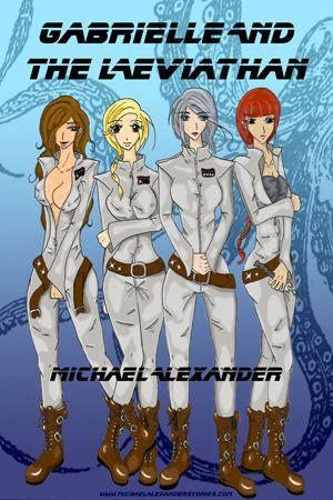 Gabrielle and the Leviathan Girl on girl action plus alien tentacle sex, what more could I ask for? I do enjoy F/f stories especially when they are kinky. To top it off with non-con tentacle sex where every hole is violated, how can I resist?