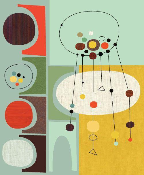 73 Best Mid Century Patterns Art Design Images On