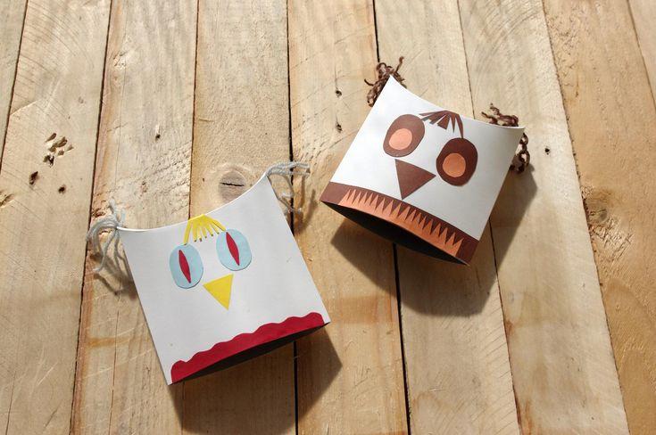 Veselé sovy z papíru - Sovy jsme vyrobili z papírových krabiček a ozdobili barevným papírem. Je to ideální inspirace pro vytváření s dětmi.  ( DIY, Hobby, Crafts, Homemade, Handmade, Creative, Ideas)