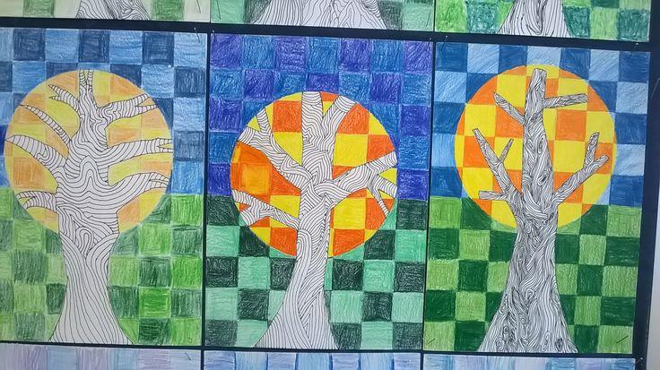 perokresba strom 2