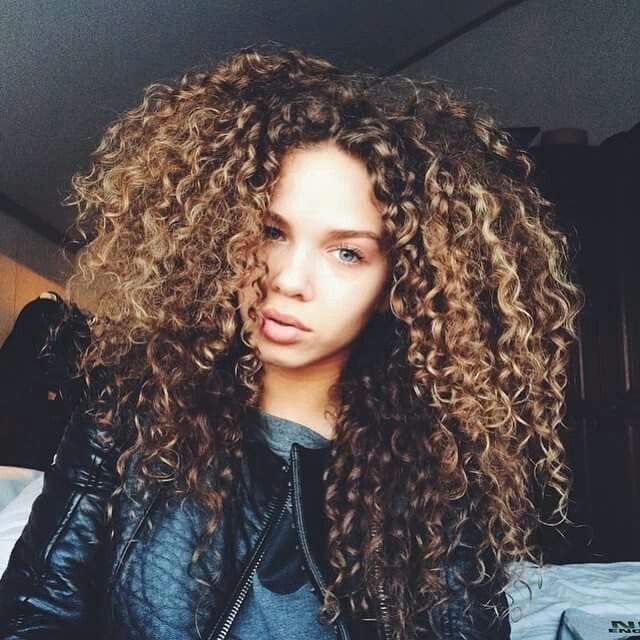how to get wild curly hair