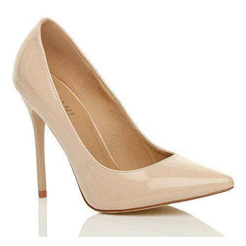 Damen Höher Absatz Kontrast Party Spitz Gepflegt Fesch Arbeit Pumps Schuhe 6 39 - http://on-line-kaufen.de/ajvani/39-eu-6-uk-damen-hoeher-absatz-kontrast-stilettos-12