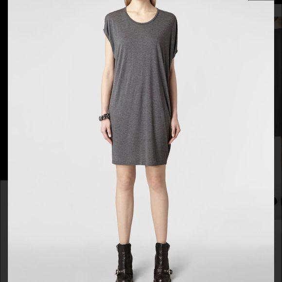 All Saints Mayra jersey dress *sale!!* USA size 4. New without tags. Soft cotton, spandexy soft stretch All Saints Dresses