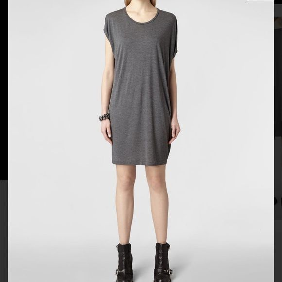 All Saints Mayra jersey dress *1hr discount shpng* USA size 4. New without tags. Soft cotton, spandexy soft stretch All Saints Dresses