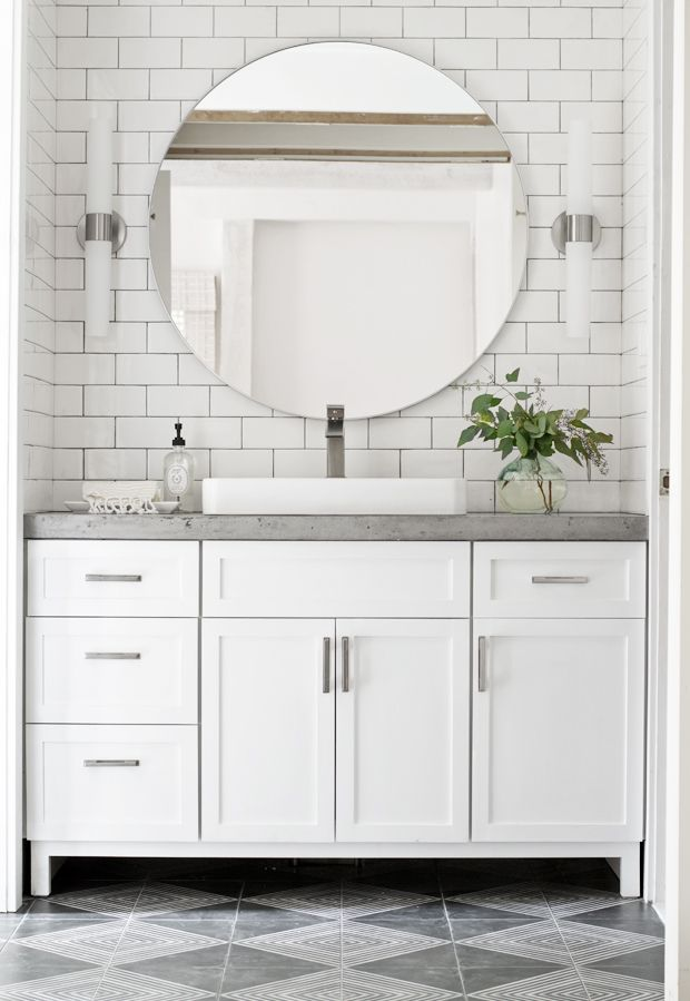 did you see sarahs bathroom renovation wowzers sarah would you and david - Design My Bathroom