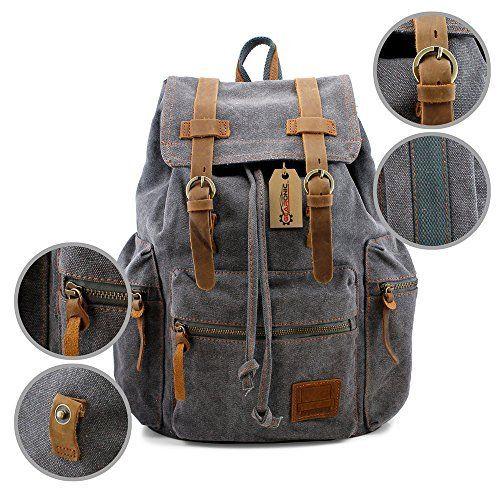 Men's Vintage Canvas Backpack Sale!  Men's Vintage Canvas Backpack Sale!  Expires Nov 13 2017