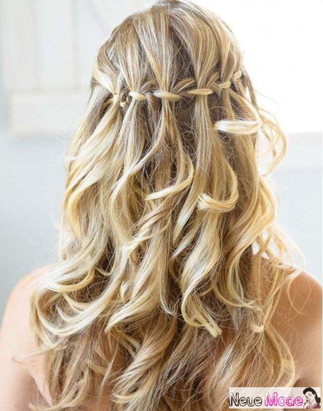 Halboffene Frisur Neue Halboffene Frisuren 2019 Abiball Frisuren Halboffen In 2020 Hair Styles Cool Braids Special Occasion Hairstyles