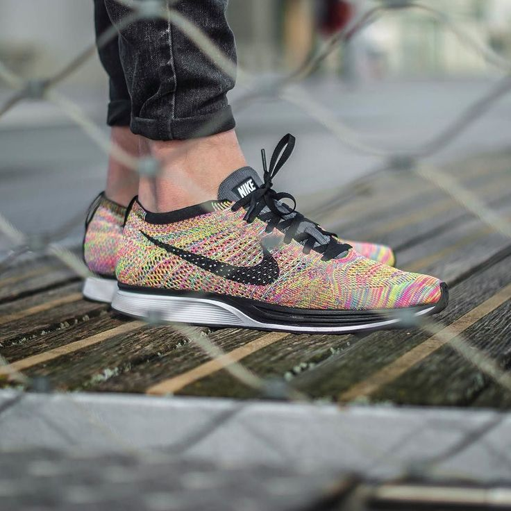 """Need some colour ?   Nike Flyknit Racer """"Multi 3.0"""" worn by @zblahzblah  by anthonysuz"""