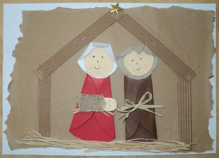 Betlém - Marie, Josef a Ježíšek