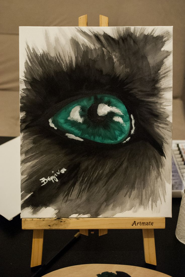 Predatot - Acrylic Colours Drawing